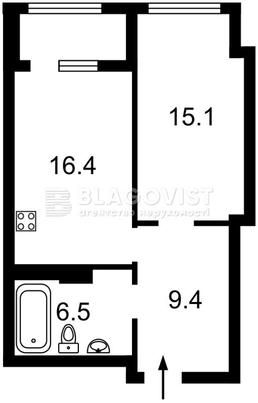 Квартира R-39745, Антоновича (Горького), 109, Киев - Фото 4