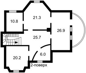Будинок Парникова, Власівка, A-105994 - Фото 3