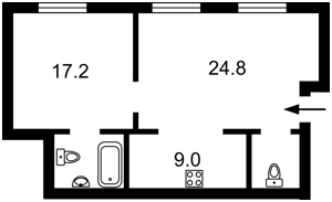 Квартира H-50309, Спасская, 1/2, Киев - Фото 4