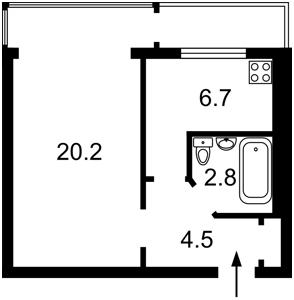 Квартира Z-335171, Иорданская (Гавро Лайоша), 2а, Киев - Фото 5