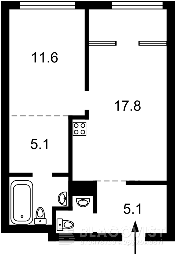 Квартира R-39866, Заречная, 2 корпус 2, Киев - Фото 4