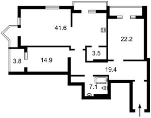 Квартира Z-792497, Дмитриевская, 13а, Киев - Фото 4