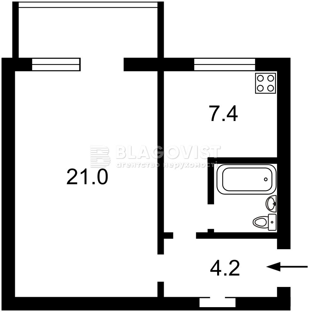 Квартира Z-795397, Антоновича (Горького), 47, Киев - Фото 4