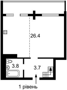 Квартира Вышгородская, 45, Киев, D-37269 - Фото2