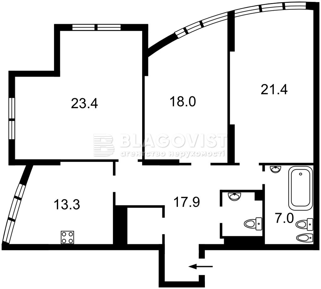 Квартира R-35339, Дмитриевская, 80/82, Киев - Фото 5