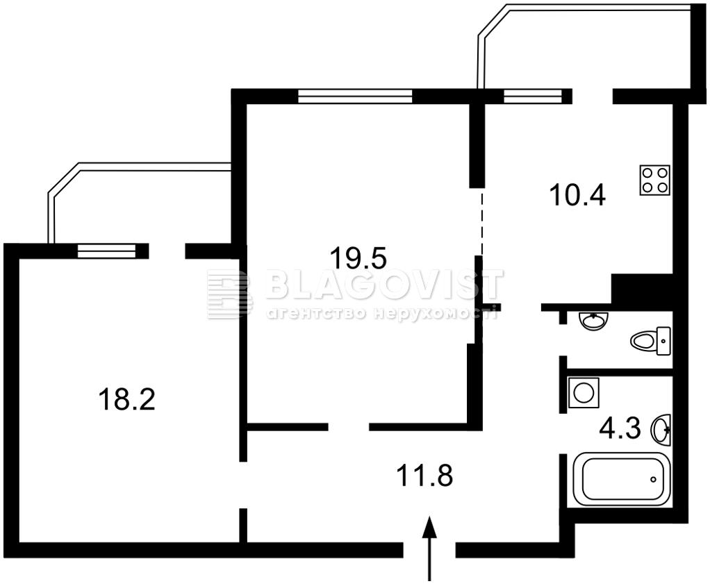 Квартира Z-375509, Победы просп., 71а, Киев - Фото 4