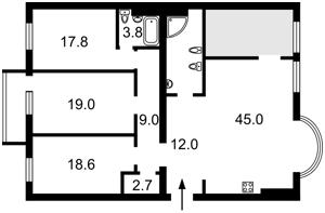Квартира Z-774947, Черновола Вячеслава, 25, Киев - Фото 4