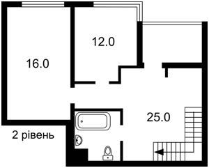 Квартира M-39147, Джона Маккейна (Кудри Ивана), 7, Киев - Фото 7