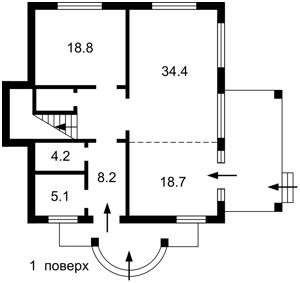 Будинок Мала Олександрівка, Z-381203 - Фото 3