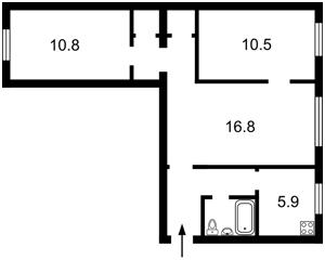 Квартира Бойчука Михайла (Кіквідзе), 37, Київ, Z-794622 - Фото2