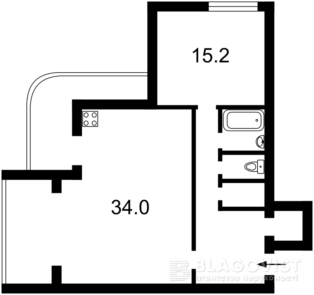 Квартира Z-1220632, Старонаводницкая, 4, Киев - Фото 6