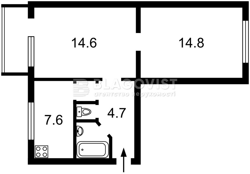Квартира M-39214, Кловский спуск, 12а, Киев - Фото 3