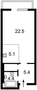Квартира E-41206, Максимовича Михаила (Трутенко Онуфрия), 28б, Киев - Фото 7