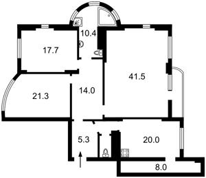 Квартира Жилянська, 30а, Київ, Z-797844 - Фото2