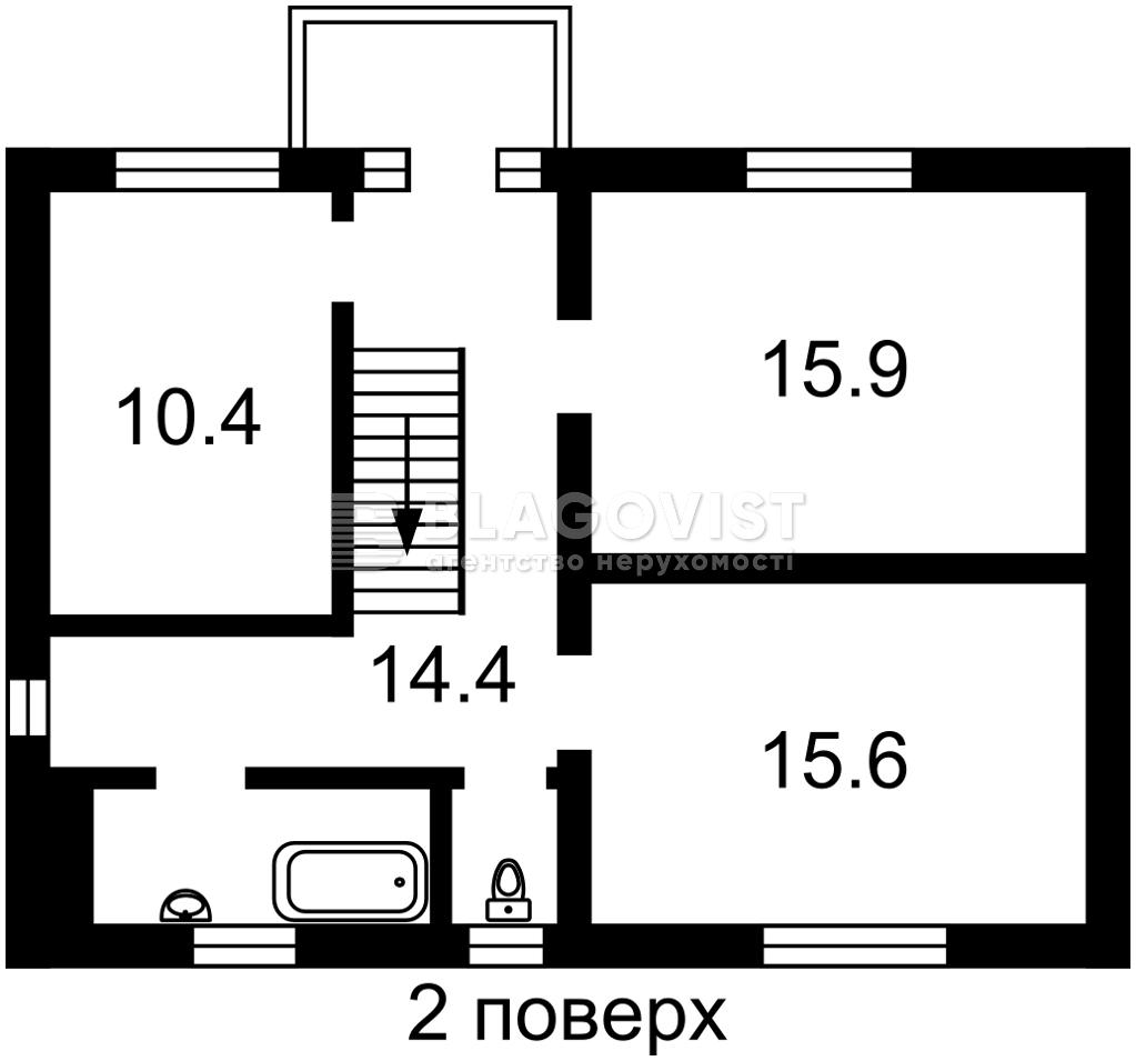 Дом H-50433, Донской пер., Киев - Фото 6