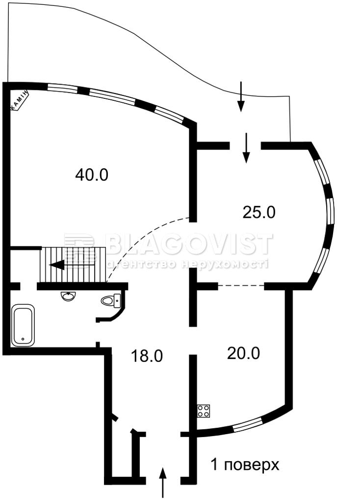 Дом F-45221, Козин (Конча-Заспа) - Фото 2