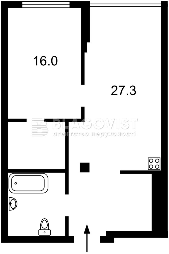 Квартира M-39239, Бойчука Михаила (Киквидзе), 41-43, Киев - Фото 7
