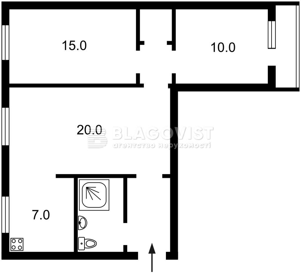 Квартира Z-791757, Леси Украинки бульв., 24, Киев - Фото 6