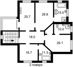 Будинок Мархалівка, P-29970 - Фото 3