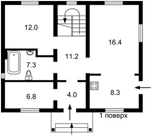 Будинок Личанка, Z-305071 - Фото 2