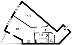 Квартира Глубочицкая, 43 корпус 1, Киев, Z-799200 - Фото2