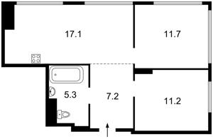 Квартира Черниговская, 8 корпус 2, Киев, Z-685755 - Фото 2