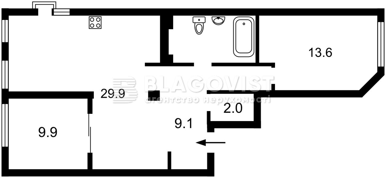 Квартира Z-800877, Теремковская, 4а, Киев - Фото 3