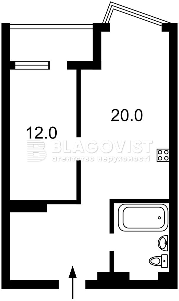 Квартира H-50490, Драгоманова, 2, Киев - Фото 4