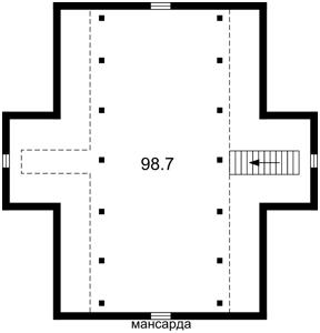 Дом Z-800605, Чайки - Фото 3