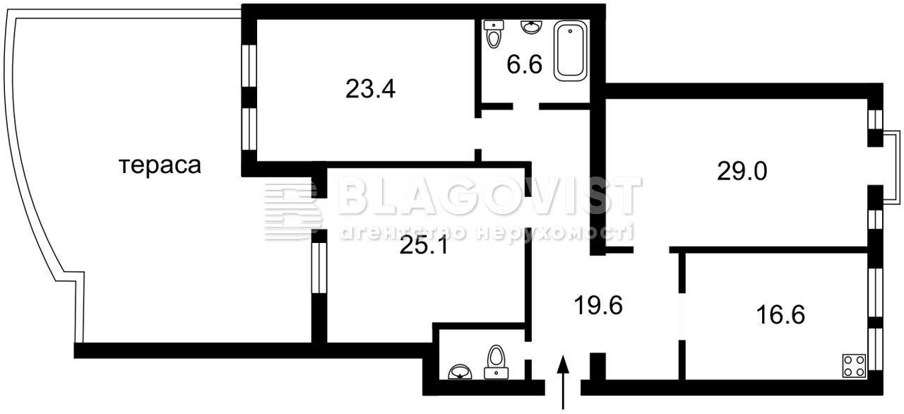 Квартира H-50504, Панаса Мирного, 12, Киев - Фото 9