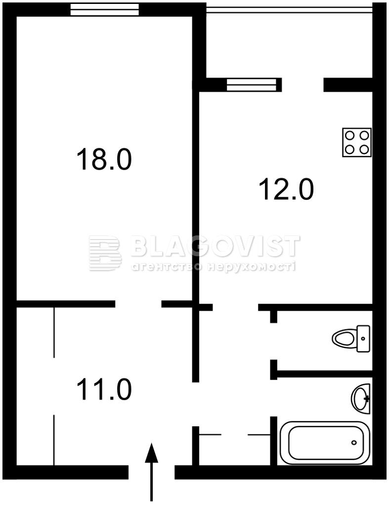 Квартира F-45247, Здолбуновская, 13, Киев - Фото 5