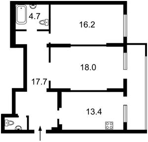 Квартира Волынская, 10, Киев, M-39275 - Фото2