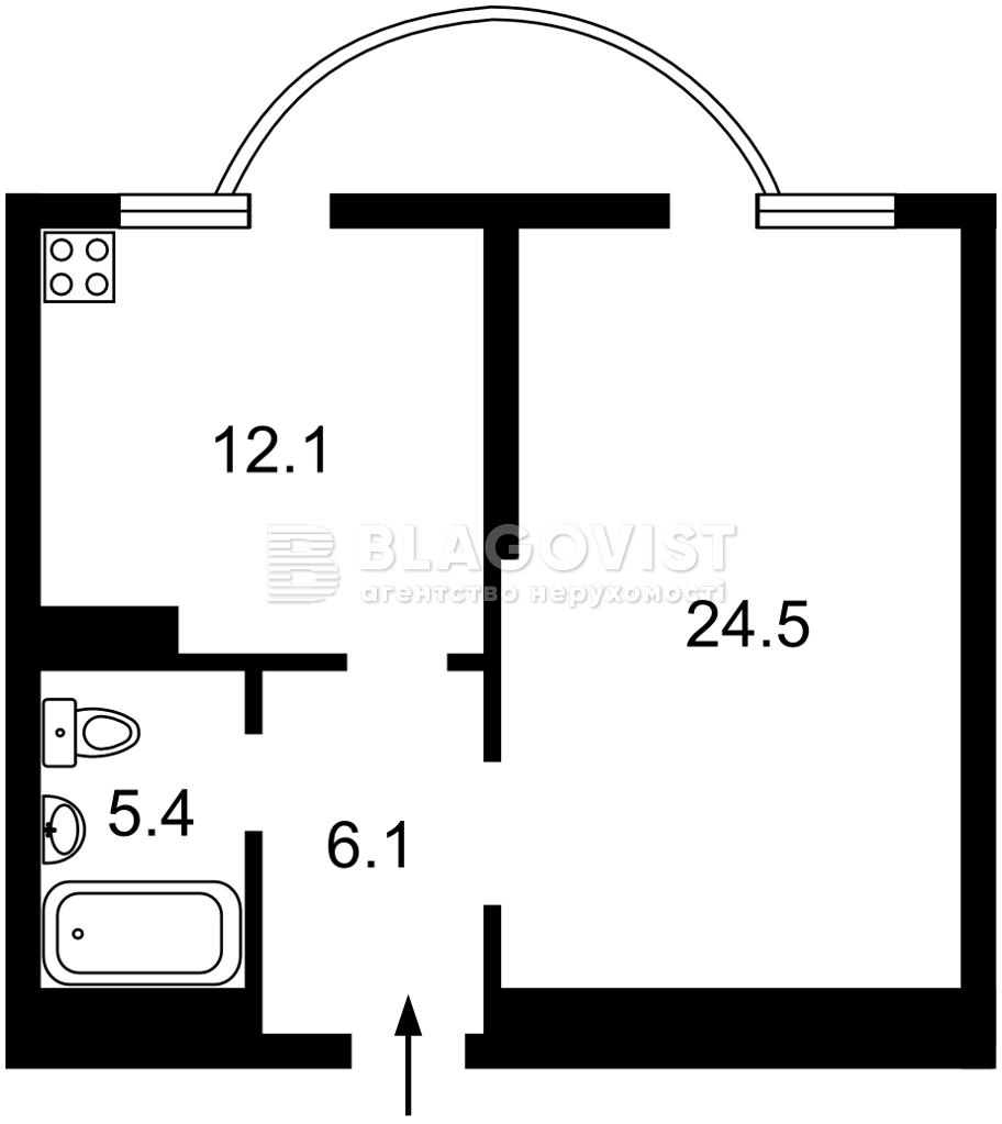 Квартира Z-800755, Ломоносова, 46/1, Киев - Фото 6