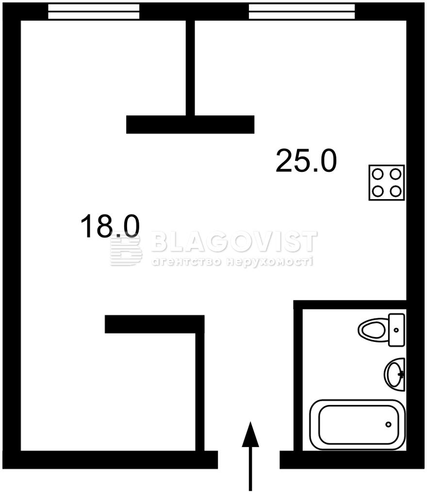 Квартира F-45225, Попова Александра, 3/5 корпус 7, Киев - Фото 4