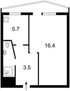 Квартира Z-803968, Руданского Степана, 1а, Киев - Фото 2