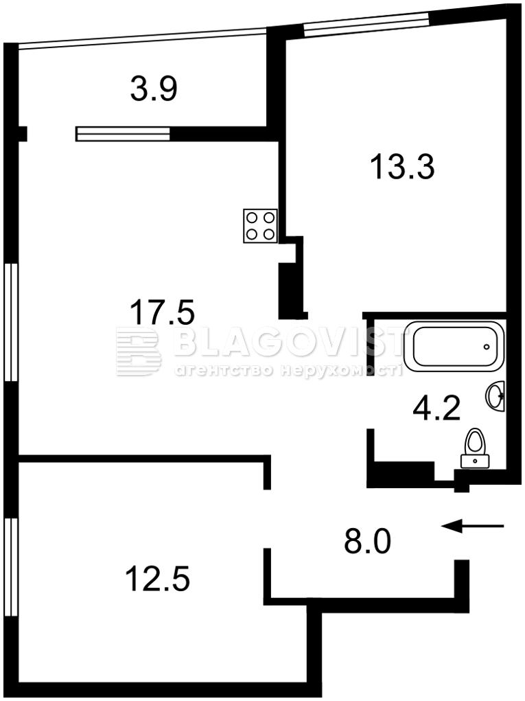 Квартира Z-803904, Шолуденко, 30 корпус 1, Киев - Фото 2