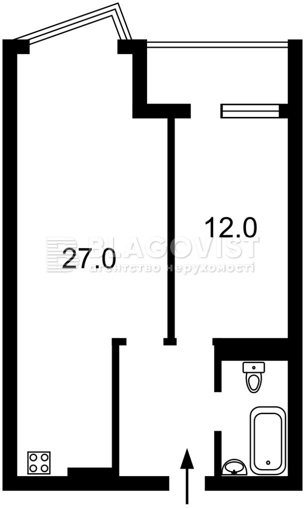 Квартира Z-799918, Драгоманова, 2а, Киев - Фото 5