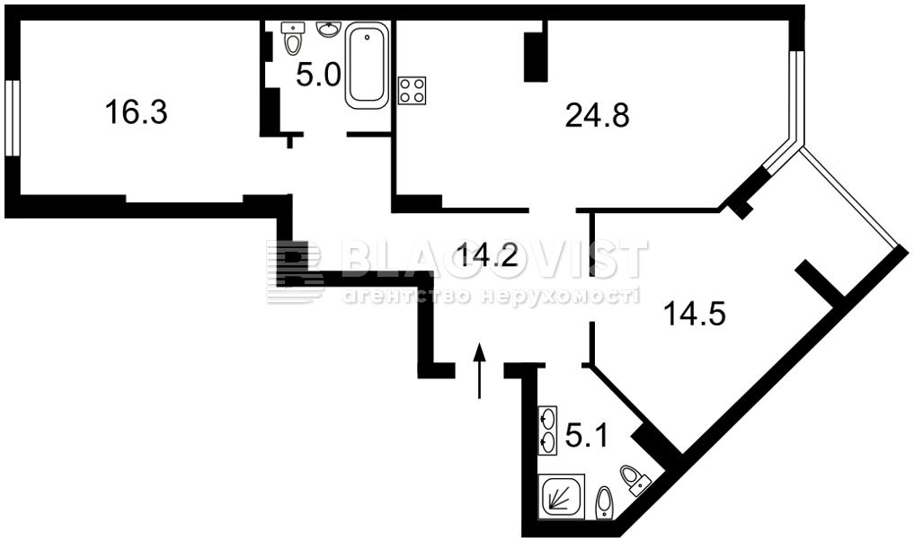 Квартира H-50561, Вышгородская, 45, Киев - Фото 5