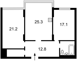 Квартира Днепровская наб., 14а, Киев, H-50574 - Фото 2