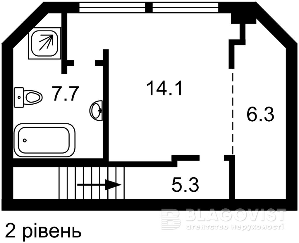 Квартира M-39335, Кудряшова, 20б, Киев - Фото 6