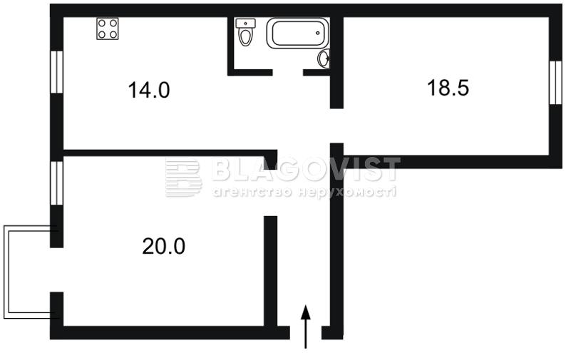 Квартира E-41369, Владимирская, 79а, Киев - Фото 3