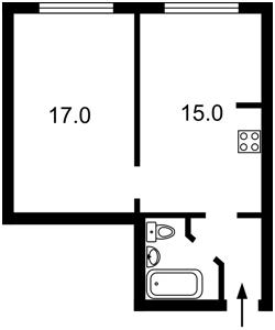 Квартира D-37381, Вишняковская, 2, Киев - Фото 4