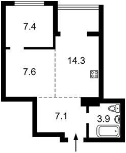 Квартира Гулака Николая, 4, Киев, P-30057 - Фото 2