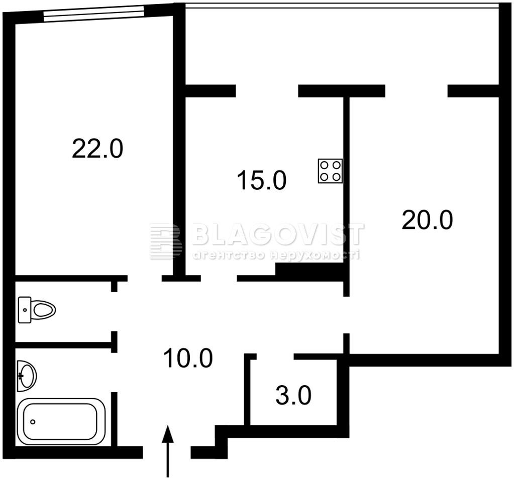 Квартира M-39354, Малевича Казимира (Боженко), 89, Киев - Фото 4