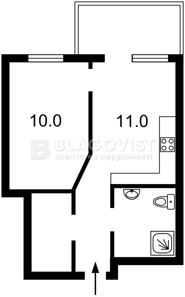 Квартира Z-747868, Победы просп., 67 корпус 7, Киев - Фото 3