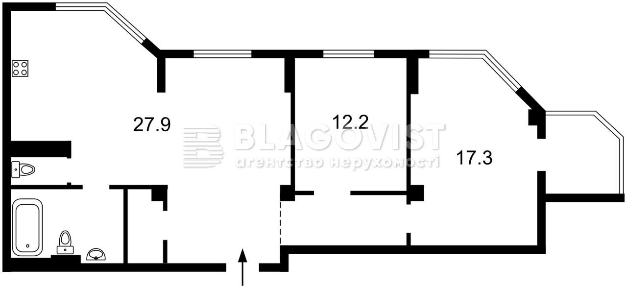 Квартира Z-802402, Просвещения, 16а, Киев - Фото 4