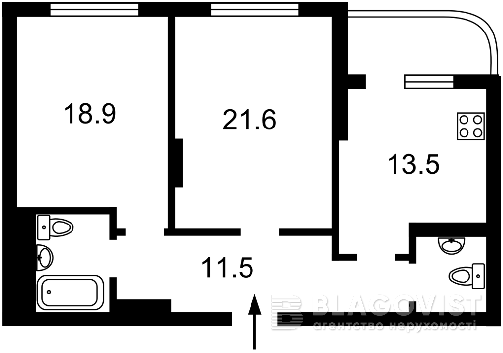 Квартира M-39361, Голосеевский проспект (40-летия Октября просп.), 30а, Киев - Фото 4