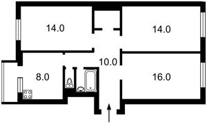 Квартира A-112565, Героев Сталинграда просп., 51, Киев - Фото 4