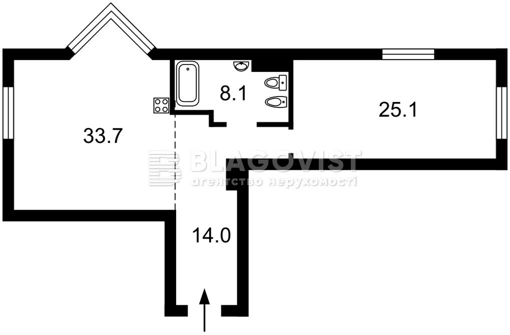 Квартира D-37439, Драгомирова Михаила, 14а, Киев - Фото 5