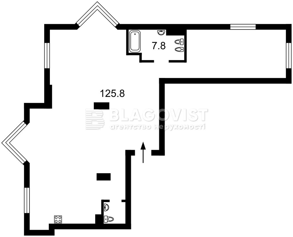 Квартира D-37423, Драгомирова Михаила, 14а, Киев - Фото 5